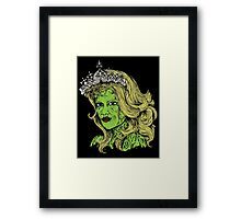 Queen of the Zombies Framed Print