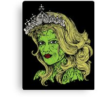 Queen of the Zombies Canvas Print