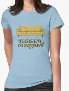 Three's Company Womens Fitted T-Shirt