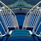 Mirrored Ferry Steps by lezvee