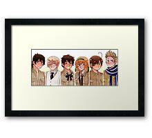 The Tomato Gang! Framed Print
