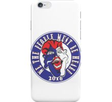 WE THE PEOPLE MUST BE HEARD #2 Red White & Blue iPhone Case/Skin