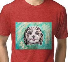 White Dawg Tri-blend T-Shirt