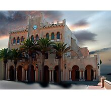 Ciutadella Town Hall II - reworked Photographic Print