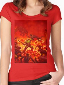 Hell Women's Fitted Scoop T-Shirt