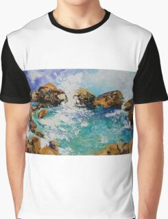 Rockpools Graphic T-Shirt
