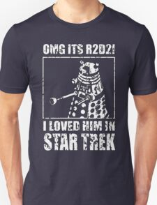 R2-D2 Star Trek Dalek T-Shirt