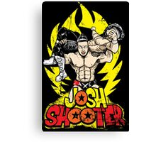 Super Axe Smash to JXT Canvas Print