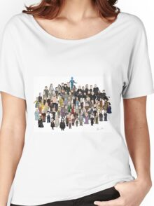 Game of Burgers - All Characters Women's Relaxed Fit T-Shirt