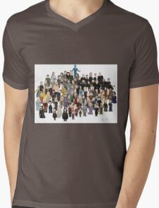 Game of Burgers - All Characters Mens V-Neck T-Shirt