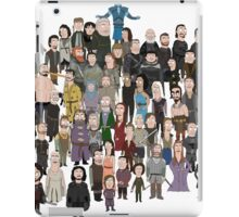 Game of Burgers - All Characters iPad Case/Skin
