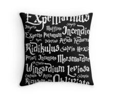 Harry Potter - Spells Throw Pillow