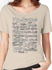 Harry Potter - Spells Women's Relaxed Fit T-Shirt