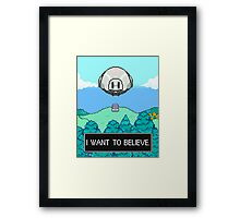 Mother 3 x X-Files Framed Print
