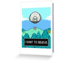 Mother 3 x X-Files Greeting Card