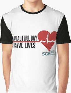Grey's Anatomy - It's a Beautiful Day to Save Lives Graphic T-Shirt