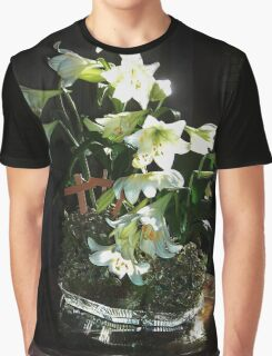 Easter Lilies Graphic T-Shirt
