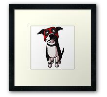 Dogpool Framed Print