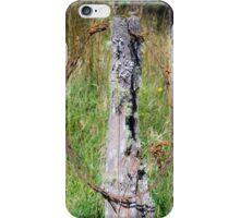 3142016 barb wire iPhone Case/Skin