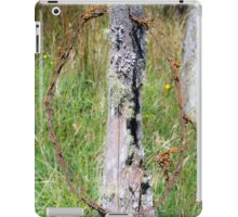 3142016 barb wire iPad Case/Skin
