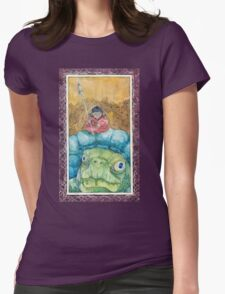 Warrior of the Shell Womens Fitted T-Shirt