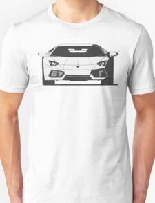 Lamborghini Aventador (front) T-Shirt