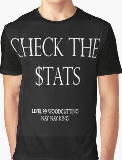 Check the $tats Graphic T-Shirt