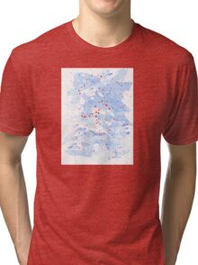 Azure Waters Tri-blend T-Shirt