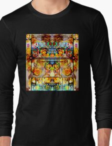 THE GREATEST PSYCHEDELIC PAINTING IN THE GALAXY Long Sleeve T-Shirt