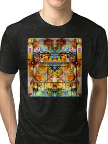 THE GREATEST PSYCHEDELIC PAINTING IN THE GALAXY Tri-blend T-Shirt