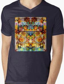 THE GREATEST PSYCHEDELIC PAINTING IN THE GALAXY Mens V-Neck T-Shirt