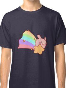 Rainbow Shooting Star Pig Classic T-Shirt