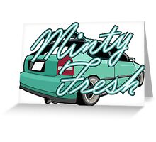Minty Fresh Greeting Card