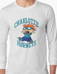 Charlotte Hornets Nickelodeon Night Long Sleeve T-Shirt