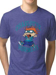 Charlotte Hornets Nickelodeon Night Tri-blend T-Shirt