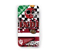 Indiana University Collage Samsung Galaxy Case/Skin