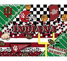 Indiana University Collage Photographic Print