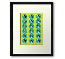 Ray Guns Ver.2 Framed Print