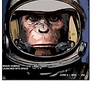 Brave hominid laughed into space by NuckChorris