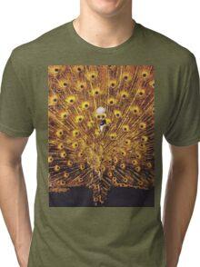 Peacock Man Tri-blend T-Shirt