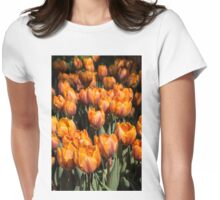 Tulips, Tulips, Tulips! Womens Fitted T-Shirt