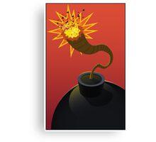 The Bomb Canvas Print