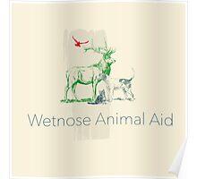 Wetnose redbubble logo III Poster