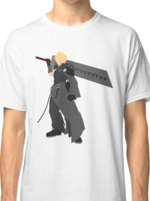 Cloud Strife Vector/Minimalist (Advent Children)  Classic T-Shirt