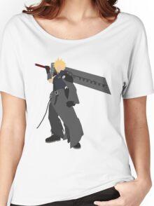 Cloud Strife Vector/Minimalist (Advent Children)  Women's Relaxed Fit T-Shirt