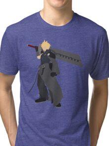 Cloud Strife Vector/Minimalist (Advent Children)  Tri-blend T-Shirt