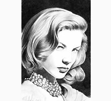Lauren Bacall, one of the greatest female star of Classic Hollywood! Unisex T-Shirt