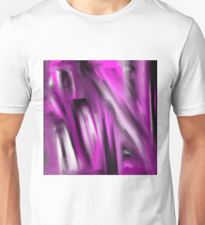 Unbalanced - Pale Abstract 3 Unisex T-Shirt