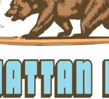 Manhattan Beach CA. Sticker