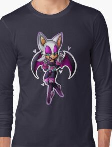 Rouge the bat- Sonic Heroes outfit Long Sleeve T-Shirt